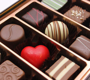 チョコレート詰め合わせ