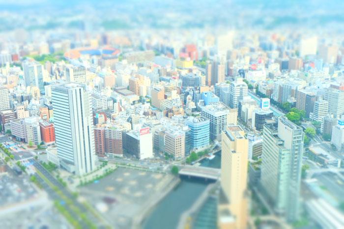 都会のビル