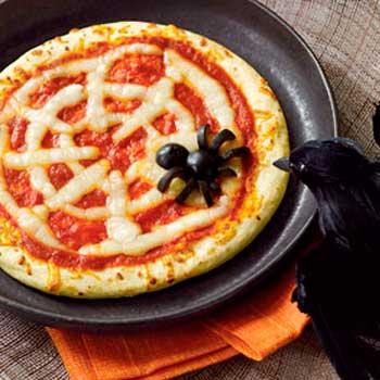 蜘蛛の巣ピザ