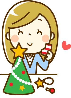 折り紙のクリスマス飾り