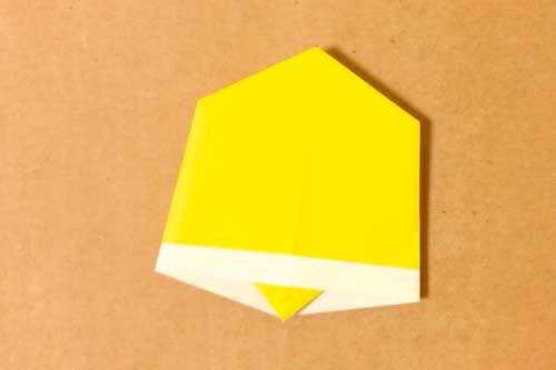 折り紙で作るクリスマスベル