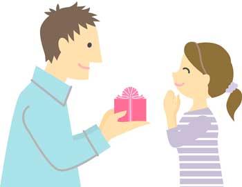 男性から女性へバレンタインプレゼント