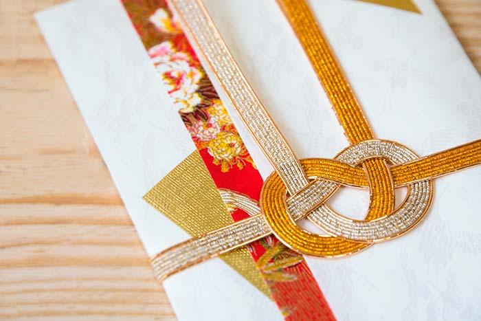 結婚祝いののし袋(祝儀袋)