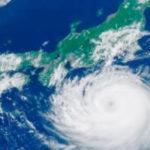 「台風の目」って何なの?台風の目の中は晴れているって本当?