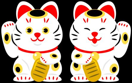 招き猫の右手あげ・左手あげの違い